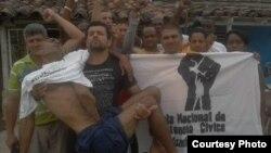 Activista en Placetas apoyan a Luis E Santos