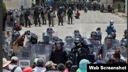 El gobierno despliega fuerzas militar para garantizar el orden electoral