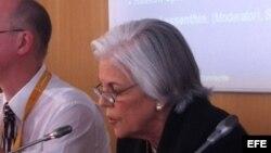 Sylvia Iriondo, presidenta de Madres y Mujeres Anti Represión por Cuba (MAR)