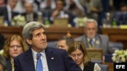 El secretario de Estado, John Kerry