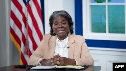 Linda Thomas-Greenfield, Embajadora de EEUU ante la ONU. (Brendan Smialowski / AFP)