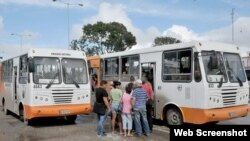 Autobuses Diana comenzaron a emsamblarse en Cuba en el 2012.