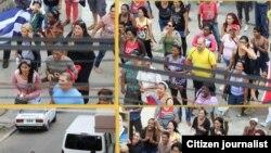 Cuba represión contra Damas de Blanco HabanaFoto de Angel Moya