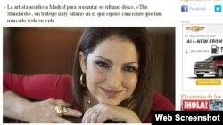 El diario español ABC fue uno de los que entrevistó a Gloria Estefan.