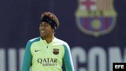 El jugador del FC Barcelona Neymar Jr.