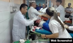 Lesionados del accidente en Sancti Spíritus son atendidos en hospitales cercanos.