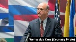 El empresario e intelectual venezolano Luis Henrique Ball, fundador y director de PanAmPost.