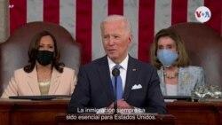 Joe Biden: la inmigración siempre ha sido esencial para EE. UU.