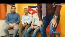 Cubanos detenidos en Holanda en espera de asilo