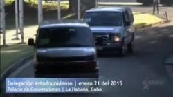 Llega delegación estadounidense a Cuba