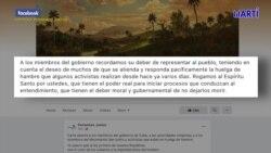 Piden cese del acoso contra integrantes del Movimiento San Isidro