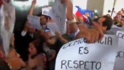 Enfrentamiento entre oficialistas y activistas independientes cubanos