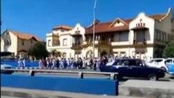 Cientos de arrestos violentos en Cuba