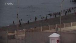 """España promete """"restablecer el orden"""" en Ceuta ante la """"grave crisis"""" migratoria"""