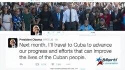 "Obama: ""El próximo mes viajaré a Cuba"""