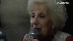 La presidenta de las abuelas argentinas de la plaza de mayo encuentra a su nieto