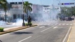 EEUU reacciona ante la represión del régimen venezolano contra manifestación pacífica