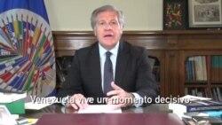 Mensaje del Secretario General de la OEA sobre Venezuela - 14 de julio de 2017