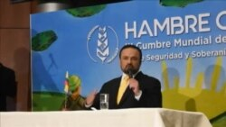 Expresidentes debaten la crisis venezolana en Cumbre Hambre Cero