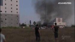 Un cohete alcanza una gasolinera en el sur de Israel