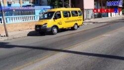 Crisis de transporte en Cuba durante la fase uno