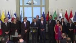 Grupo de Lima, sin México, pide a Maduro transferir el gobierno
