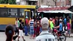 Accidente automovilístico en reparto Altamira de Santiago de Cuba