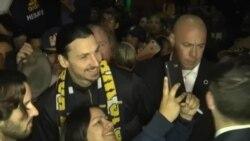 El futbolista Zlatan Ibrahimovic es la nueva estrella de Los Angeles Galaxy