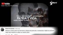 Info Martí | Patria y Vida casi 2 M en YouTube | UE impone nuevas sanciones a régimen venezolano