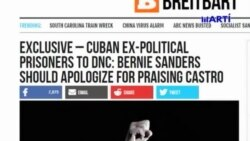 Expresos políticos cubanos enviaron carta a Tom Perez por elogios de Bernie Sanders a Fidel Castro