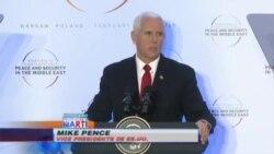 Mike Pence pide a aliados europeos sigan ejemplo de EEUU ante acuerdo nuclear con Irán
