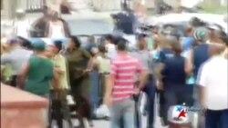 Arrestan y golpean a Damas de Blanco en La Habana