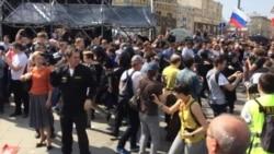Imágenes de las protestas en Rusia