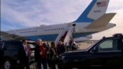 Aterrizaje de emergencia del avión de Melania Trump tras sufrir problemas mecánicos