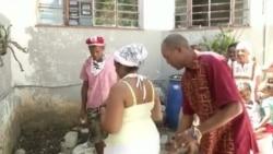 Millones de devotos de las deidades Yoruba en Cuba piden salud ante la pandemia