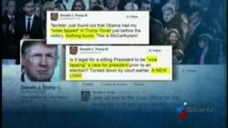 Trump pide investigación sobre presuntas escuchas telefónicas ordenadas por Obama