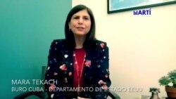 Mara Tekach envía un mensaje al pueblo de Cuba