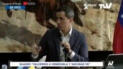 Presidente encargado de Venezuela habla del Plan de Salvación Nacional