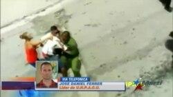Opositores agredidos y arrestados mientras filmaban un video clip