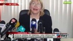 Exfiscal general venezolana perseguida teme a sicarios de Nicolás Maduro
