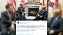 Senador Marco Rubio se reune con el comisionado Ivan Simonovis