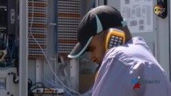 En crisis servicio telefónico tras incendio en Villa Clara