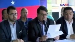 Partidos políticos venezolanos anuncian su apoyo a Juan Guaidó
