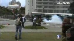 Más de 170 heridos en una protesta de profesores en Brasil