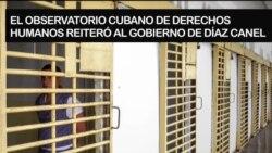 """Piden al régimen cubano """"evitar una tragedia"""" en las cárceles por coronavirus"""
