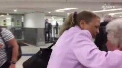 Así fue la llegada de Marta Beatriz Roque a Miami