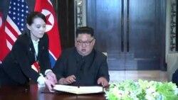 Trump, dispuesto a invitar a Kim a la Casa Blanca