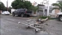 El huracán Odile toca tierra y no causa víctimas humanas pero sí numerosos destrozos