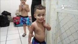 Darién, el niño de padres cubanos nacido en la selva panameña, recién cumplió dos años de edad