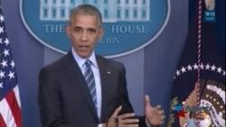 Obama ofrece último discurso de su presidencia en la Casa Blanca